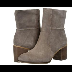 Frye and Co Phoebe Suede Mid Calf Boots/Sz:7/NWT